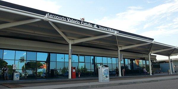 Из аэропорта Вероны в город