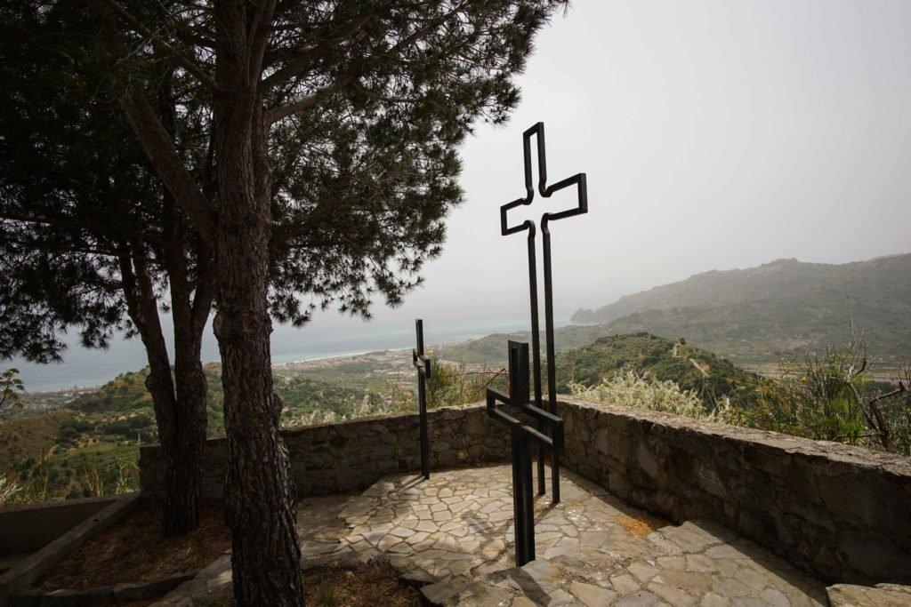 Кресты на Castello di Savoca