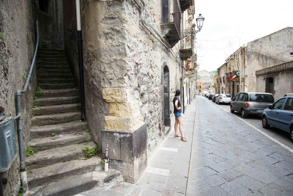 Кастильоне ди Сицилия улица