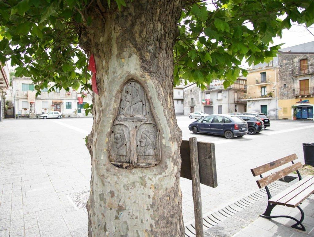Castiglione di Sicilia piazza