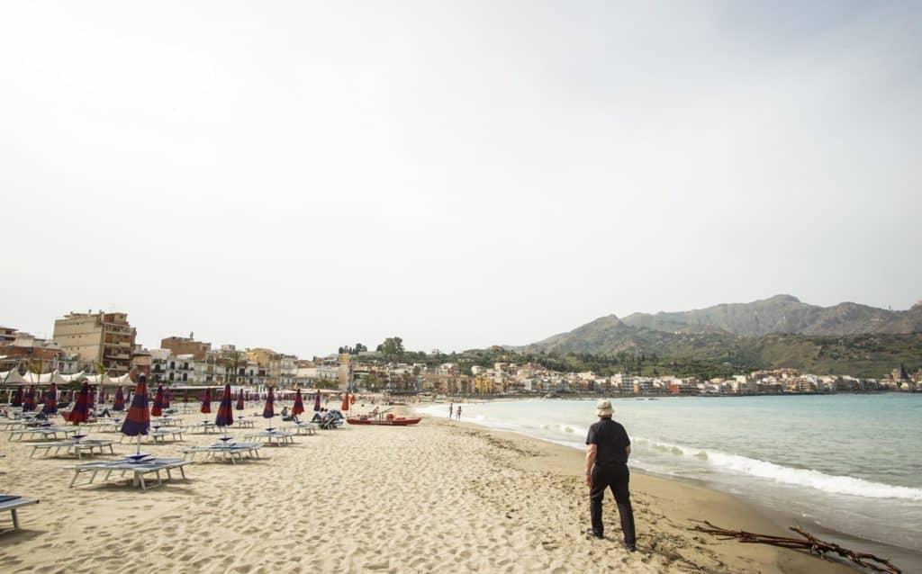 Пляж Джиардини-Наксос