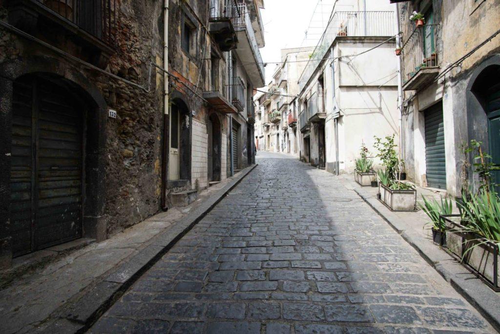 Улица в Кастильоне ди Сицилии
