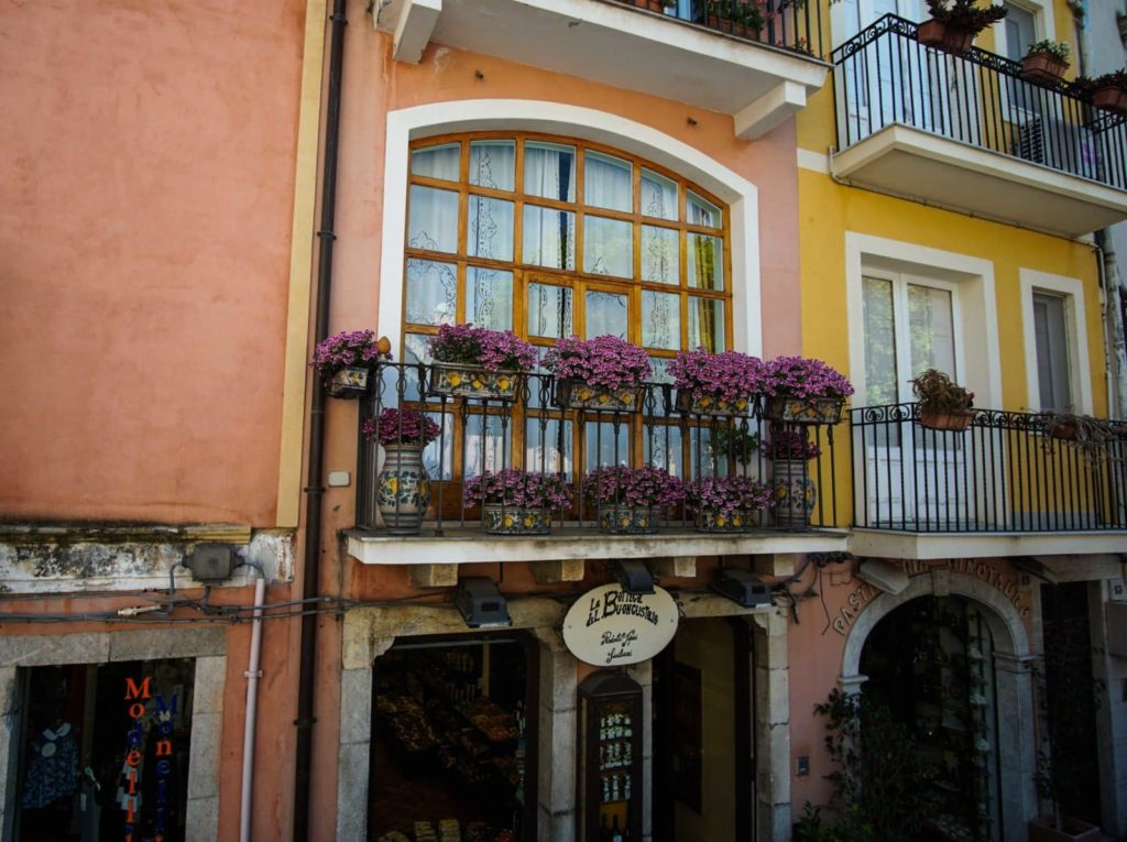 Таормина балкон