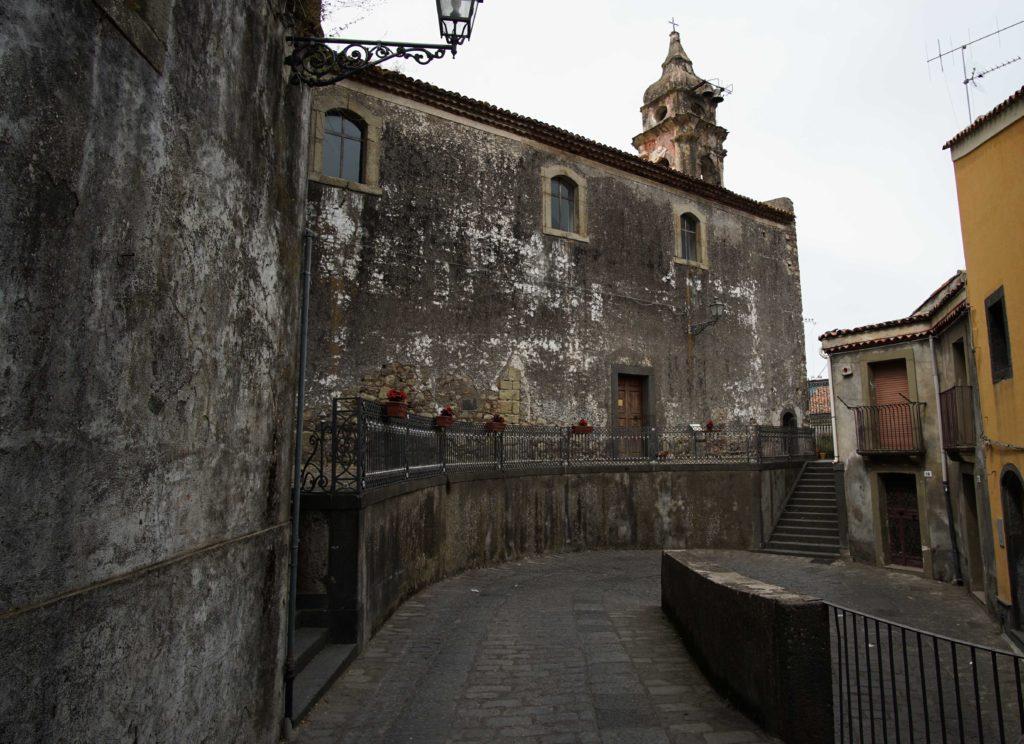 Old chisea Castiglione di Sicilia