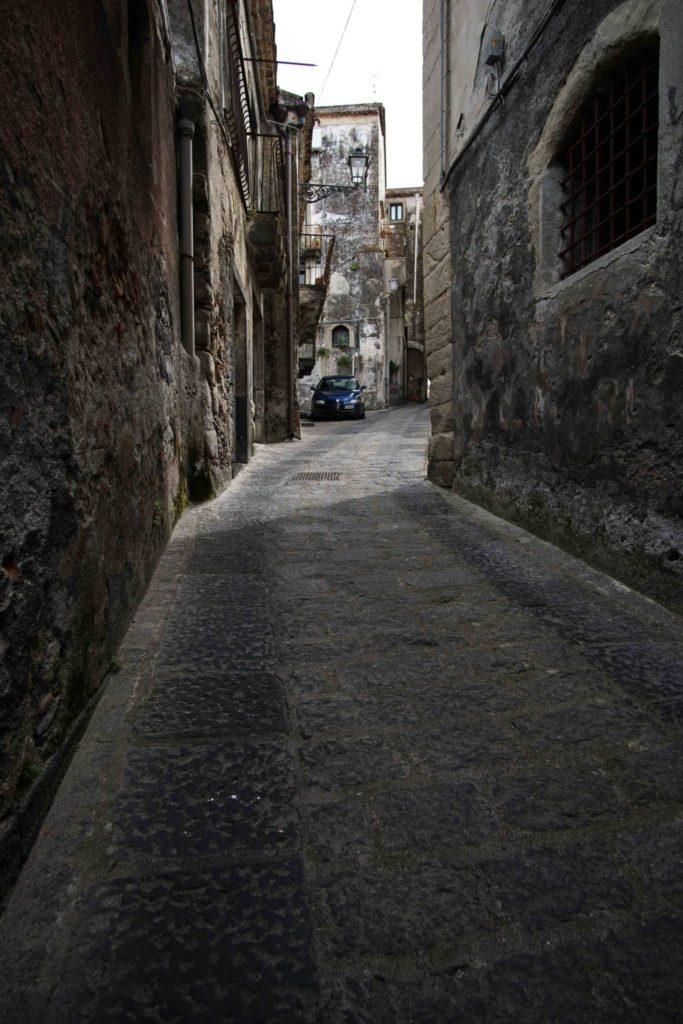 Sicilian narrow street