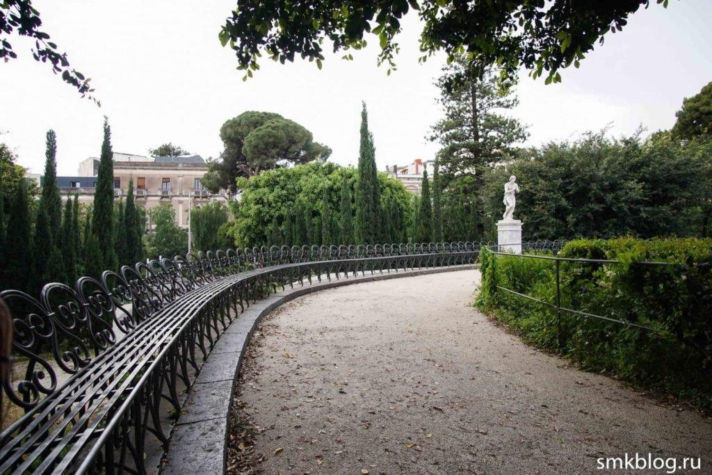 Скамейки парк Беллини