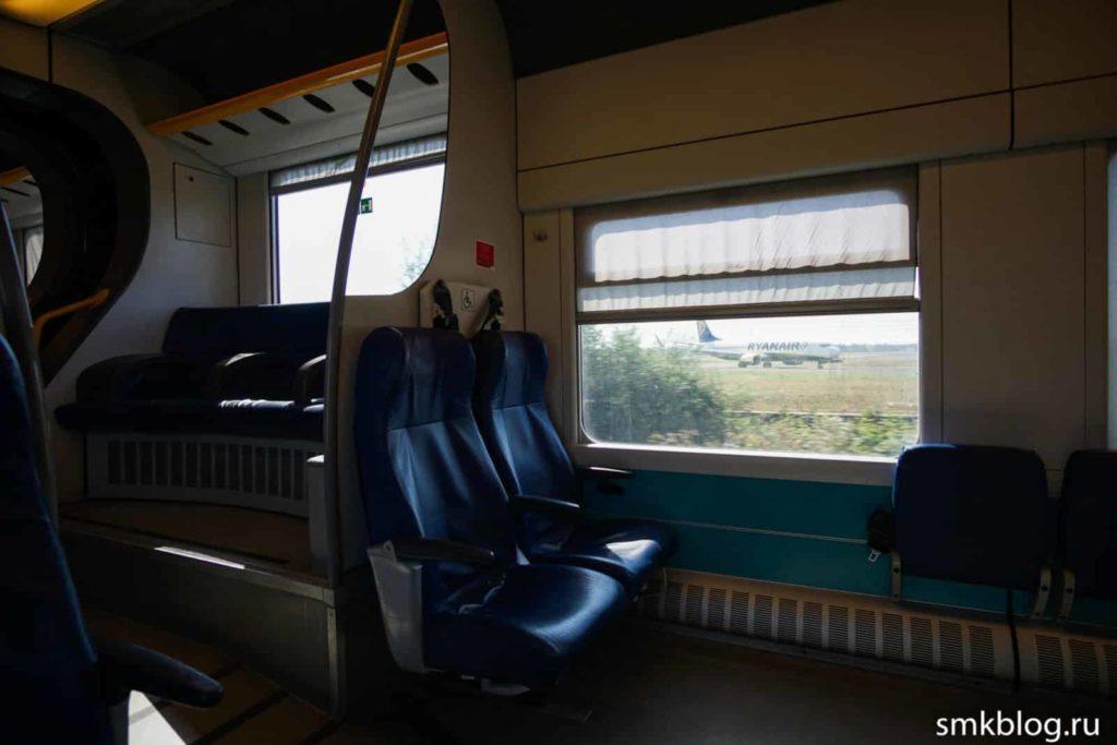 Поезд Катания-Палермо