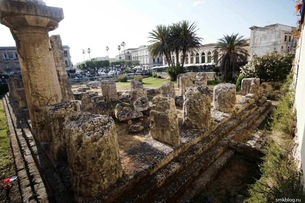 Храм Аполлона Сиракуза