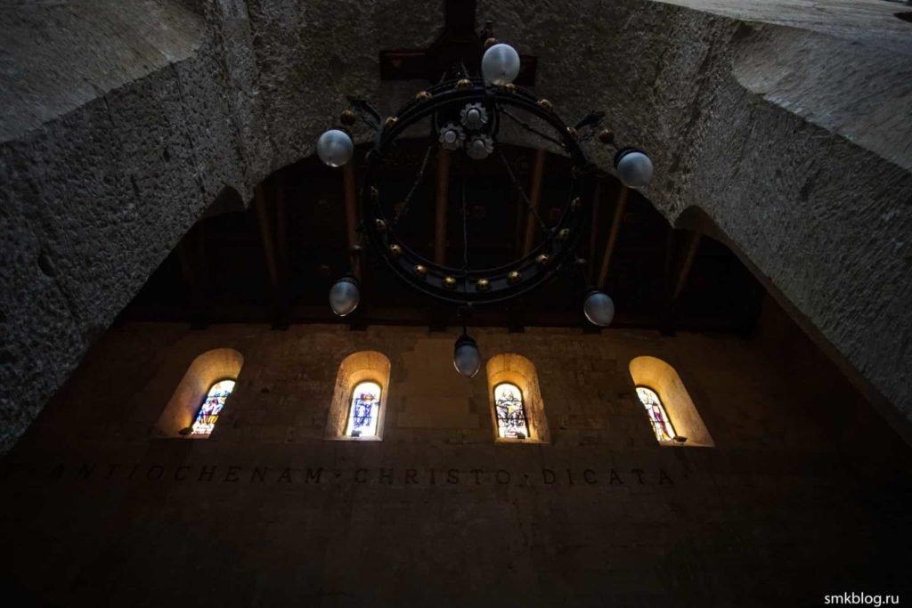 Интерьер собора в Сиракузах