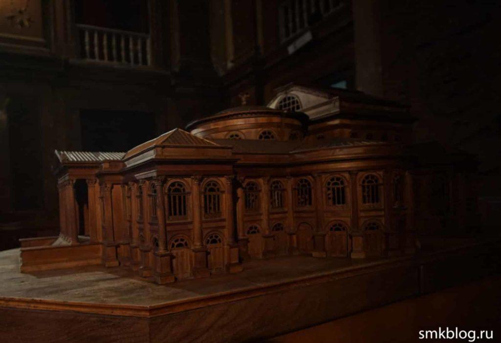 Театр Массимо Миниатюра