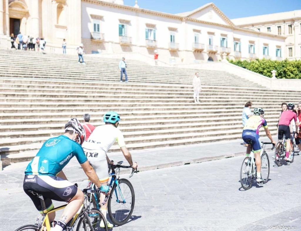 Велосипедисты ното