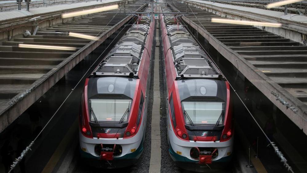 Поезда в Италии. Типы поездов и вагонов.
