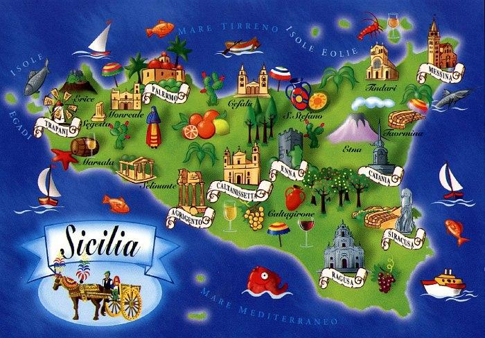 Открытки из Сицилии
