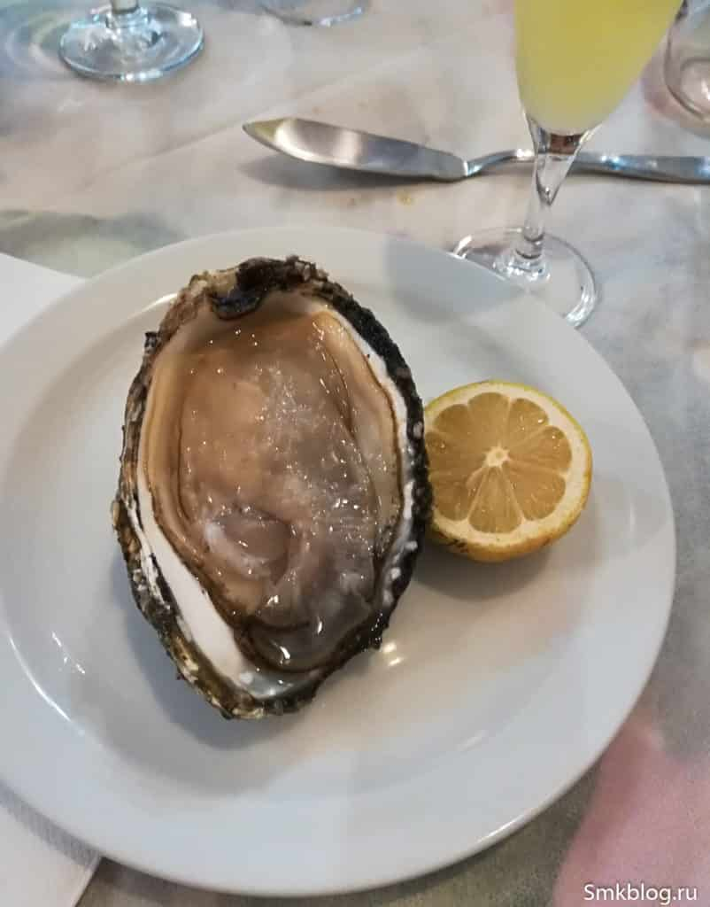 Oyster in Catania