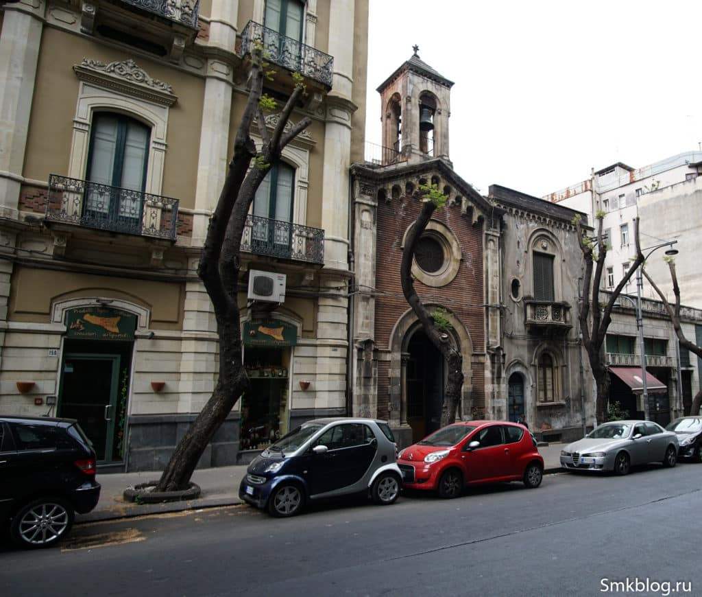 Church in Catania