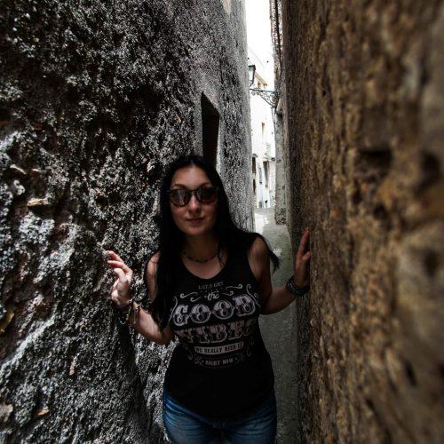 20. Узкая улица на Сицилии