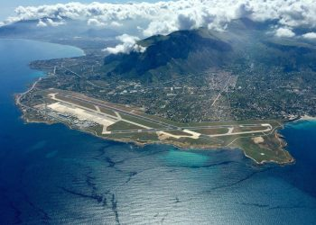 Аэропорт Палермо вид с воздуха
