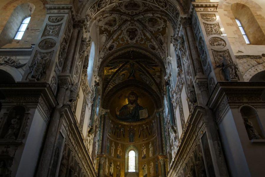 Интерьер собора Чефалу