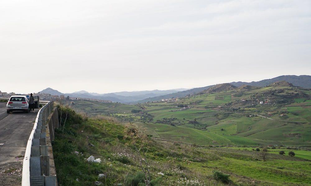 Пейзаж Сицилии Регальбуто