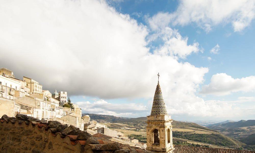 Сицилия Ганджи пейзаж