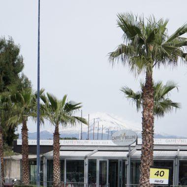 Вид на Этну из Аэропорта