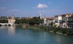 Вид на Верону с моста Скалигеров