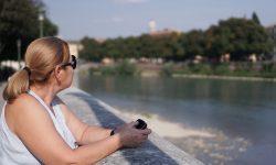 Вид на реку Адидже город Верона