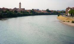 Вид на реку Адидже