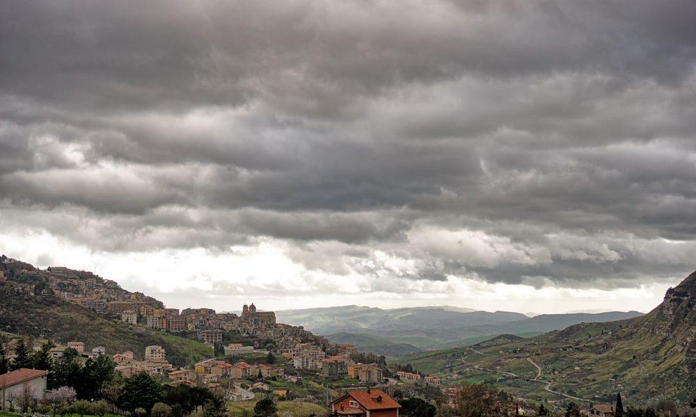 Виды Сицилии Petralia Sottana